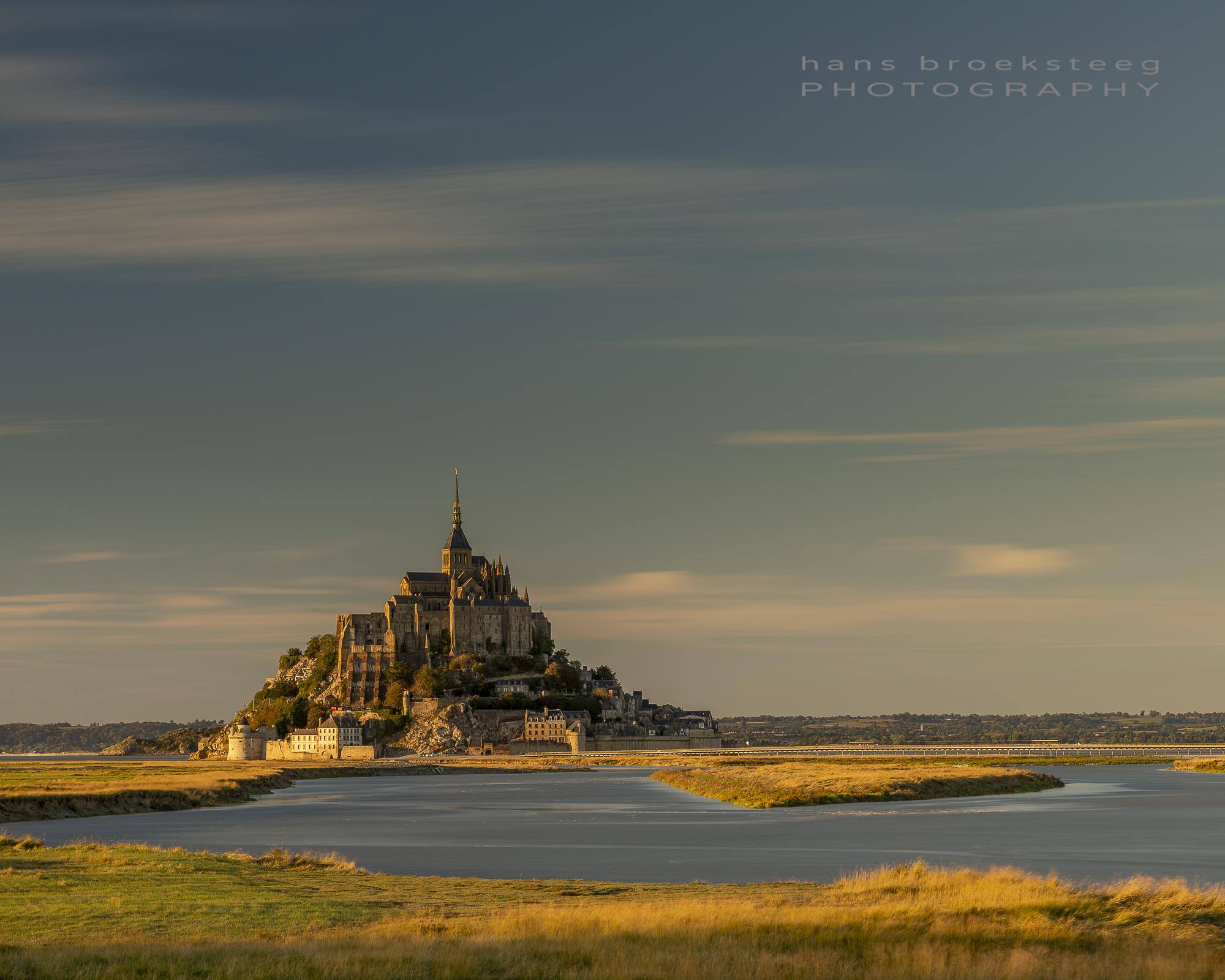 Le Mont Saint Michel, Normandy, Fr